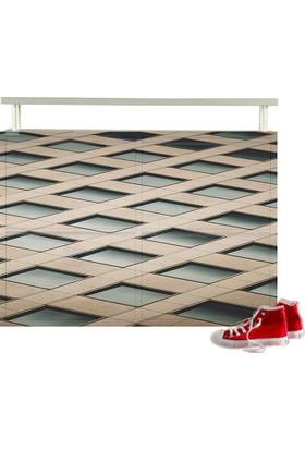 Metal Ayakkabılık Modelleri Dijital Baskılı 4Yb21