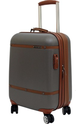 Mçs V209-3 Mçs Gri Bakalit Abs Kabin Boy Valiz Bavul