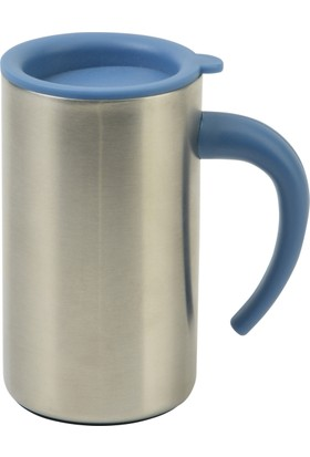Allmug İç- Dış Çelik Metalik Mug