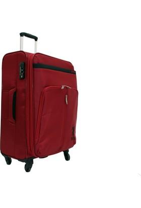 a884fa2147546 U.S. Polo Assn. Plvlz 6048C-3K Kırmızı Kabin Boy Valiz Bavul ...