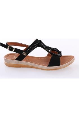 De Scario 972 Kadın Boncuklu Sandalet