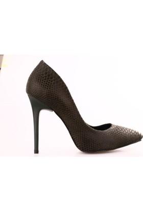 Dgn 1920 Kadın Stiletto Ayakkabı