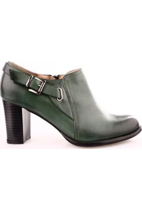 Dgn 278 Kadın Topuklu Bootie Ayakkabı