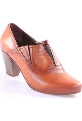 Dgn 5283 Kadın Kalın Topuk Ayakkabı