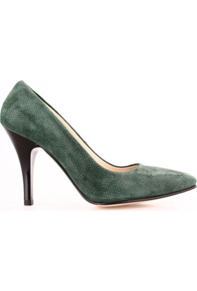 Dgn 203 Kadın Sivri Burun Topuklu Ayakkabı