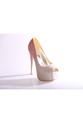 Dgn 4525 Kadın Abiye Ayakkabı