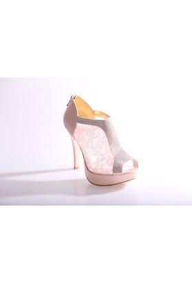 Dgn 4507 Kadın Abiye Ayakkabı