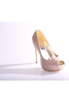 Dgn 4647 Kadın Abiye Ayakkabı