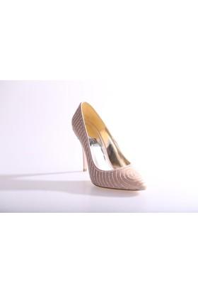 Dgn 5165 Kadın Abiye Ayakkabı