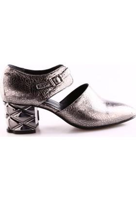 Dgn 1922 Kadın Dekolte Loafer Ayakkabı