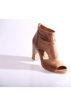 Dgn 3063 Kadın Topuklu Sandalet