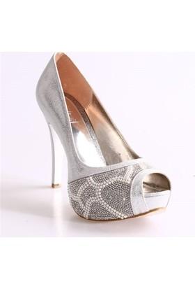Dgn 4254 Kadın Abiye Ayakkabı
