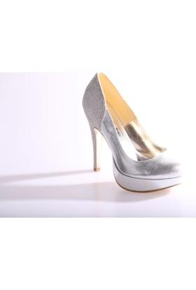 Dgn 4352 Kadın Abiye Ayakkabı