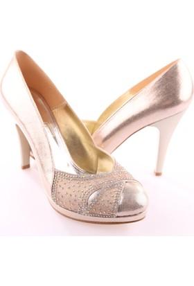 Dgn 5073 Kadın Abiye Ayakkabı