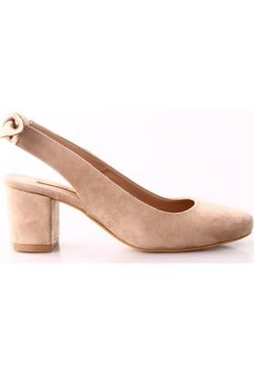 Dgn 435 Kadın Kısa Topuklu Ayakkabı