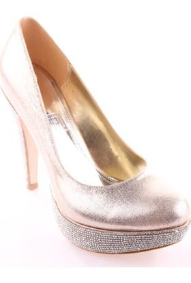 Dgn 3035 Kadın Abiye Ayakkabı