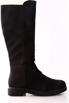 Guja 17K10-2 Kadın Arkası Stretch Knee High Çizme