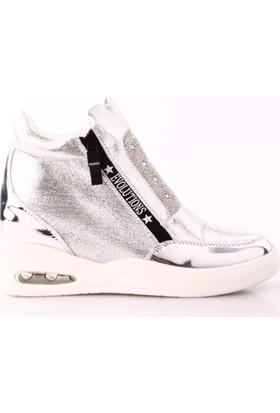 Guja 17K169-1 Kadın Gizli Topuk Bilek Ayakkabı