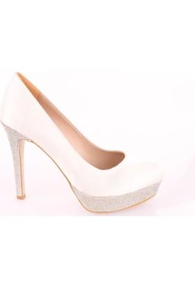 Isabel 1000 Kadın Taşlı Platform Ayakkabı