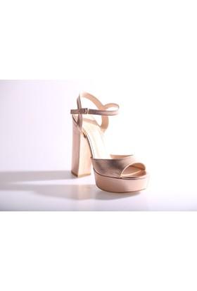 Isabel 3104 Kadın Bilekten Bağlı Platform Ayakkabı