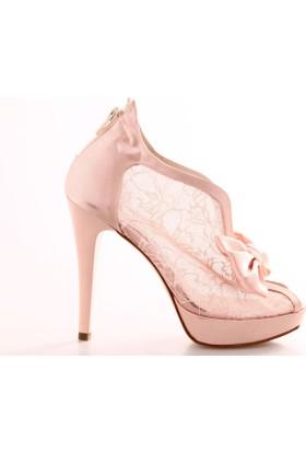 Marcatelli 6050 Kadın Transparan Abiye Ayakkabı