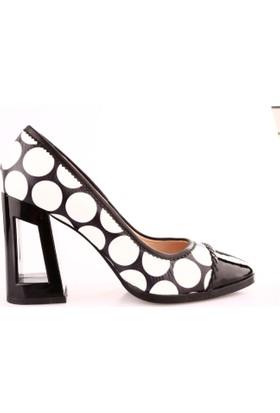 Marco Pini 3042 Kadın Çerçeve Topuklu Ayakkabı