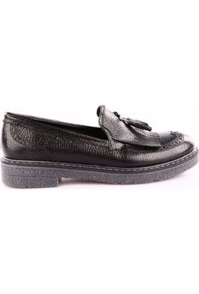 Park Moda K1811 Kadın Püsküllü Oxford Ayakkabı