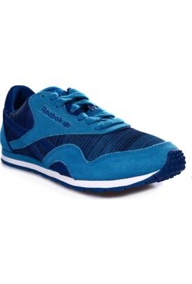 Reebok M49253 Cl Nylon Slim Geo Graphic Kadın Spor Ayakkabı