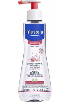 Mustela Soothing Cleansing Water 300Ml / Durulama Gerektirmeyen Temizleme Sıvısı