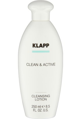 Klapp Clean&Active Cleansing Lotion 250 ml