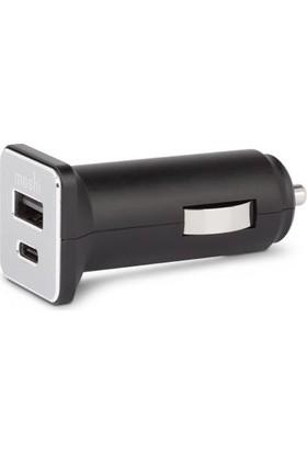 Moshi USB-C Çıkışlı Araba Şarj Ünitesi