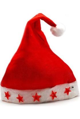 Yılbaşı Işıklı Noel Şapka