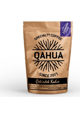 Qahua Ethiopia Sidemo Gr2 Çekirdek Kahve 250 Gr