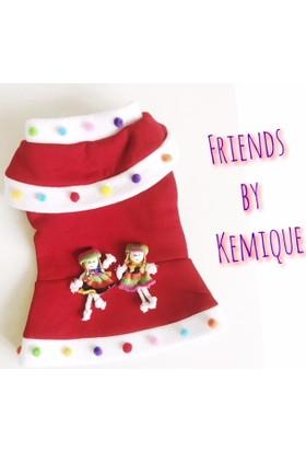 Kemique Polar Bebekli Köpek Elbisesi - Friends By Kemique
