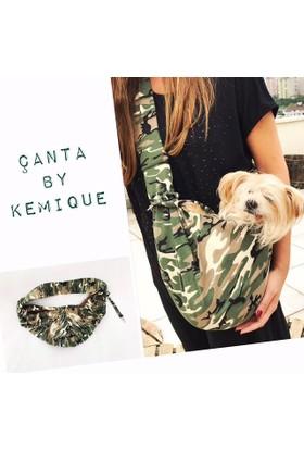 Kemique Köpek Taşıma Çantası Kamuflaj By Kemique