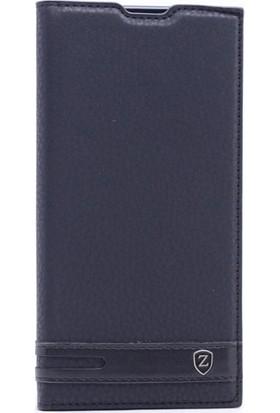Kny LG V30 Kılıf Gizli Mıknatıslı Kapaklı+ Cam