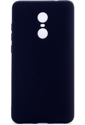 Kny Xiaomi Redmi Note 4X Kılıf Ultra İnce Mat Silikon+ Cam