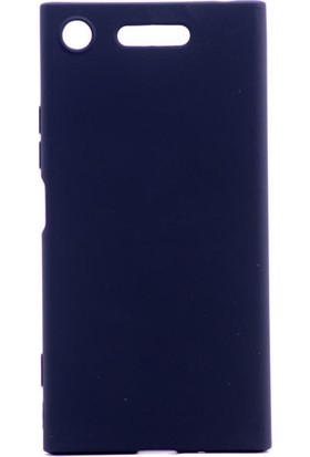 Kny Sony Xperia XZ1 Kılıf Ultra İnce Mat Silikon+ Cam