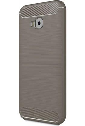 Kny Asus Zenfone 4 Selfie ZB553KL Kılıf Ultra Korumalı Room Silikon+ Cam