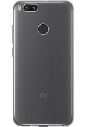 Gpack Xiaomi Mi5X Kılıf 02 Mm İnce Silikon Kılıf Şeffaf + Cam + Kalem