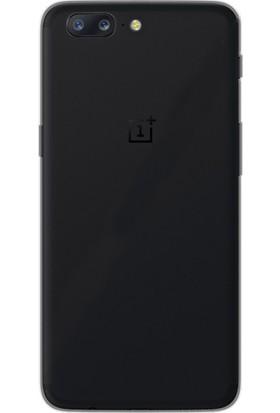 Gpack Oneplus 5 Kılıf 02 Mm İnce Silikon Kılıf Siyah