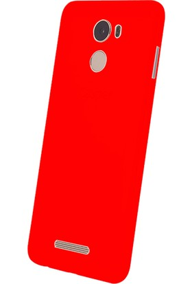 Gpack Casper Via P2 Kılıf Süper Silikon Kırmızı + Cam + Kalem