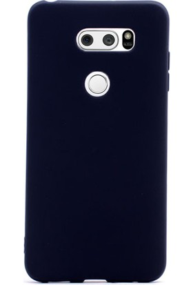 Gpack LG V30 Kılıf Silikon Premier Kılıf Siyah
