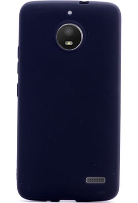 Gpack Motorola Moto E4 Kılıf Premier Yumuşak Doku Silikon Siyah