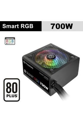 Thermaltake Smart 700W 80+ 12cm RGB Led Fanlı PSU (PS-SPR-0700NHSAWE-1)