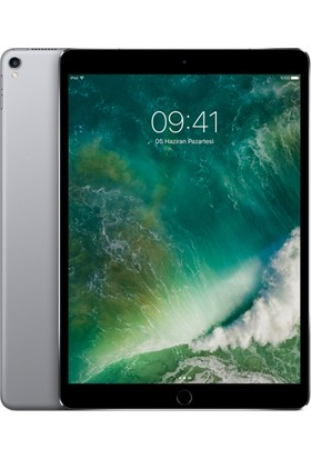 "Apple iPad Pro Wi-Fi Cellular 64GB 10.5"" FHD 4G Tablet - Space Grey MQEY2TU/A"