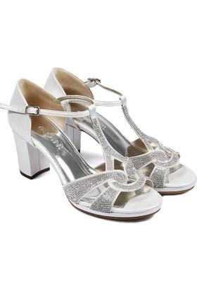 Gön Kadın Sandalet Ekru 94655