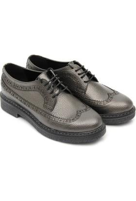 Gön Kadın Ayakkabı Platin 33801