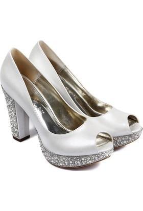 Gön Kadın Ayakkabı Ekru 94351