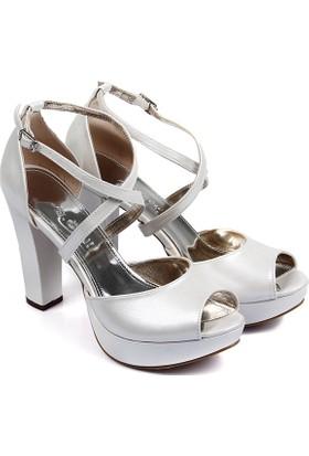 Gön Kadın Ayakkabı Ekru 94713